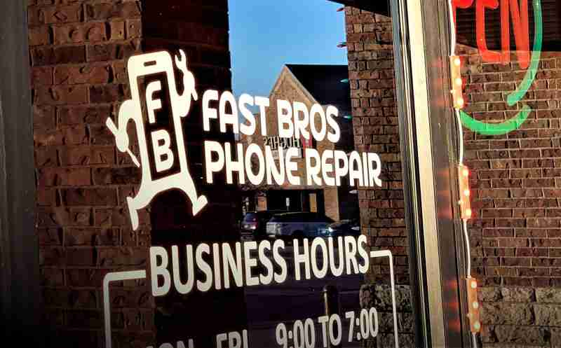 Fast Bros Phone Repair - Entrance